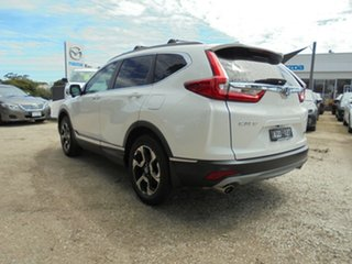 2017 Honda CR-V RW MY18 VTi-LX 4WD White Orchid 1 Speed Constant Variable Wagon