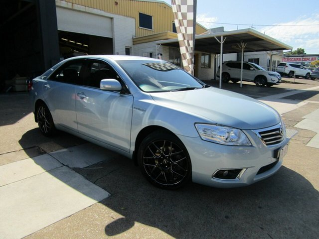 Used Toyota Aurion GSV40R AT-X Moorooka, 2009 Toyota Aurion GSV40R AT-X Blue 6 Speed Sports Automatic Sedan