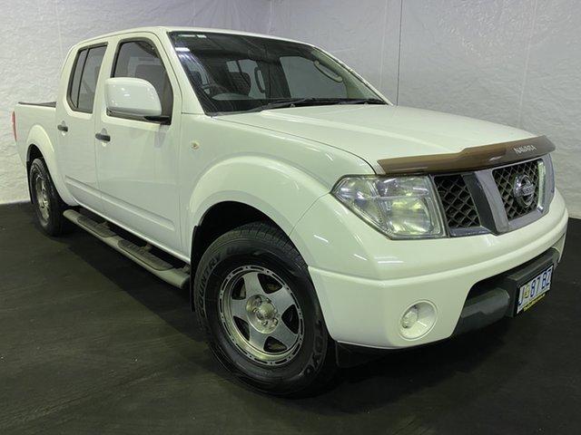 Used Nissan Navara D40 S8 RX 4x2, 2013 Nissan Navara D40 S8 RX 4x2 Polar White 5 Speed Automatic Utility