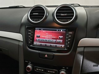 2010 Holden Commodore VE MY10 SV6 Red 6 Speed Sports Automatic Sedan