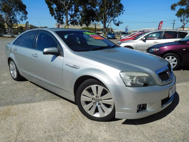Used Holden Caprice WM , 2006 Holden Caprice WM Silver 5 Speed Sports Automatic Sedan
