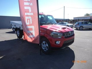 2020 Mahindra Pik-Up MY20 4WD S6+ Red Rage 6 Speed Manual Cab Chassis.