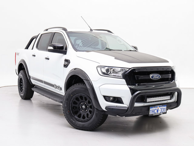 Used Ford Ranger PX MkII MY18 FX4 Special Edition, 2017 Ford Ranger PX MkII MY18 FX4 Special Edition White 6 Speed Automatic Double Cab Pick Up