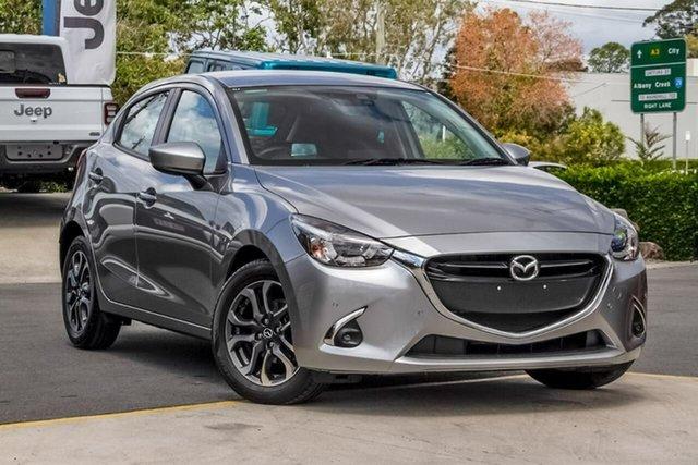 Used Mazda 2 DJ2HAA Genki SKYACTIV-Drive, 2018 Mazda 2 DJ2HAA Genki SKYACTIV-Drive Silver 6 Speed Sports Automatic Hatchback