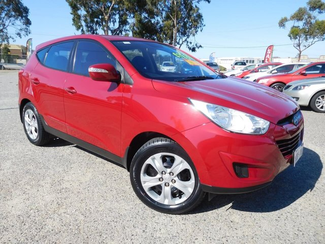 Used Hyundai ix35 LM Active, 2010 Hyundai ix35 LM Active Red 6 Speed Sports Automatic Wagon