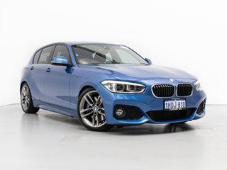 2017 BMW 125i F20 LCI MY18 M Sport Estoril Blue 8 Speed Automatic Hatchback.