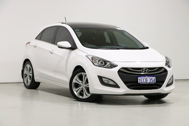 Used Hyundai i30 GD Premium, 2012 Hyundai i30 GD Premium White 6 Speed Automatic Hatchback