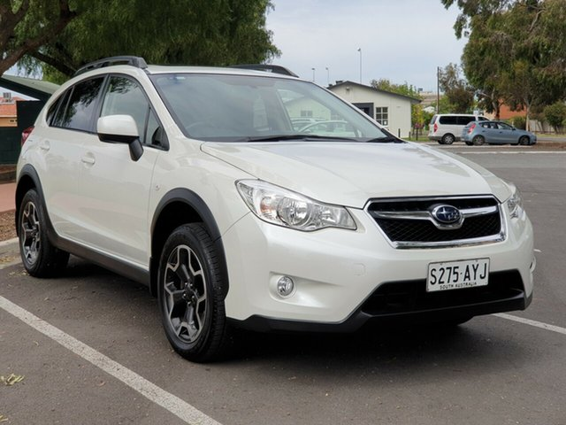 Used Subaru XV G4X MY13 2.0i-L AWD, 2013 Subaru XV G4X MY13 2.0i-L AWD White 6 Speed Manual Wagon