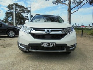 2017 Honda CR-V RW MY18 VTi-LX 4WD White Orchid 1 Speed Constant Variable Wagon.