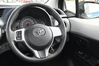2012 Toyota Yaris NCP130R YR Blue 4 Speed Automatic Hatchback