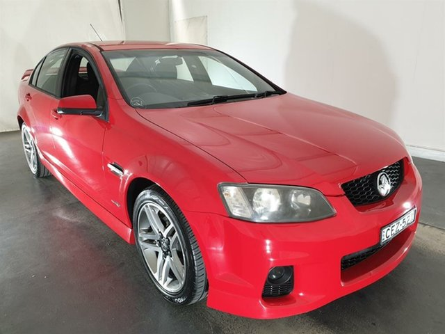 Used Holden Commodore VE MY10 SV6, 2010 Holden Commodore VE MY10 SV6 Red 6 Speed Sports Automatic Sedan