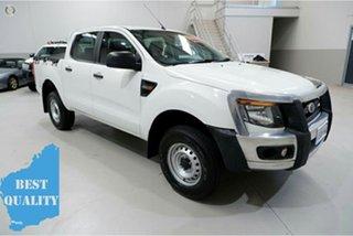 2014 Ford Ranger PX XL Hi-Rider White 6 Speed Manual Utility.