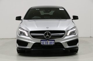2015 Mercedes-Benz CLA45 117 MY15 AMG Silver 7 Speed Automatic Coupe.