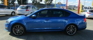 2014 Skoda Octavia NE MY14 RS Sedan 162TSI Blue 6 Speed Manual Liftback