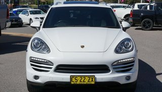 2012 Porsche Cayenne 92A MY13 Diesel Tiptronic White 8 Speed Sports Automatic Wagon.