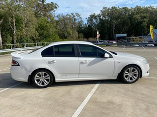 2008 Ford Falcon FG XR6 White 5 Speed Auto Seq Sportshift Sedan.