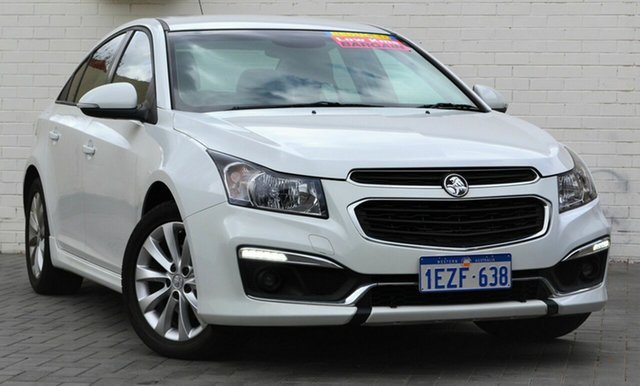 Used Holden Cruze JH Series II MY15 SRi, 2015 Holden Cruze JH Series II MY15 SRi White 6 Speed Sports Automatic Sedan