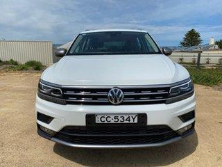 2018 Volkswagen Tiguan 5N MY19 132TSI Comfortline DSG 4MOTION Allspace White 7 Speed