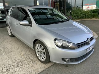2011 Volkswagen Golf 1K MY11 118 TSI Comfortline Silver 7 Speed Auto Direct Shift Hatchback.
