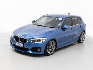 2017 BMW 125i F20 LCI MY18 M Sport Estoril Blue 8 Speed Automatic Hatchback
