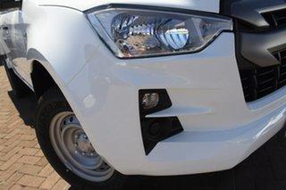 2020 Isuzu D-MAX TF MY21 SX (4x2) Mineral White 6 Speed Auto Seq Sportshift Crew Cab Chassis.
