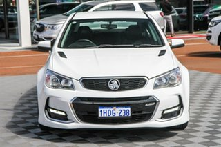 2016 Holden Commodore VF II MY16 SS White 6 Speed Sports Automatic Sedan