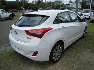 2012 Hyundai i30 GD Active White 6 Speed Automatic Hatchback