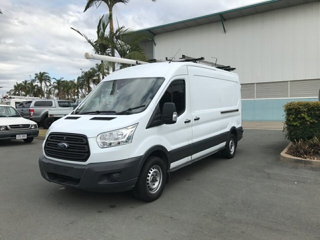 Used Ford Transit VO 350L (Mid Roof), 2014 Ford Transit VO 350L (Mid Roof) Frozen White 6 speed Manual Van