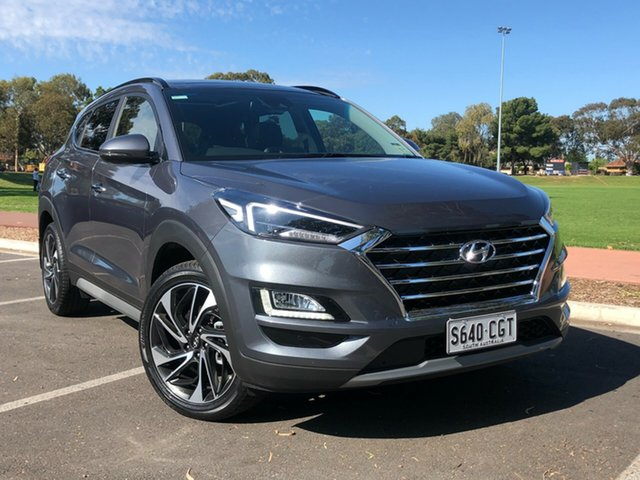 Demo Hyundai Tucson TL3 MY20 Highlander AWD Nailsworth, 2020 Hyundai Tucson TL3 MY20 Highlander AWD Pepper Gray 8 Speed Sports Automatic Wagon