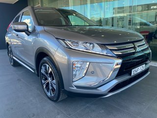 2018 Mitsubishi Eclipse Cross YA MY18 LS 2WD Grey 8 Speed Constant Variable Wagon.