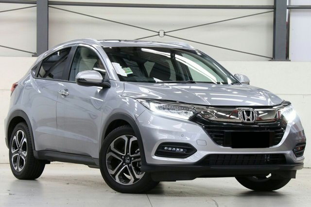 New Honda HR-V MY21 VTi-LX Parramatta, 2020 Honda HR-V MY21 VTi-LX Lunar Silver 1 Speed Constant Variable Hatchback