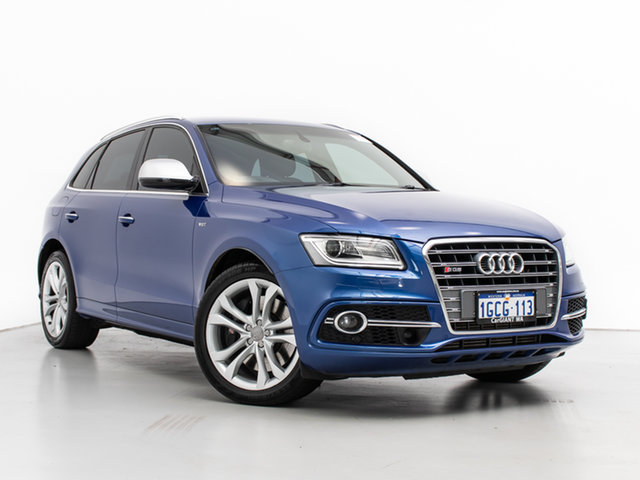 Used Audi SQ5 8R MY16 Upgrade 3.0 TDI Quattro, 2016 Audi SQ5 8R MY16 Upgrade 3.0 TDI Quattro Blue 8 Speed Automatic Wagon