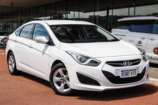 2014 Hyundai i40 VF2 Active White 6 Speed Sports Automatic Sedan.