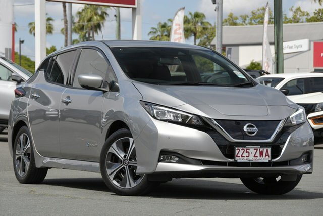 Used Nissan Leaf ZE1 , 2019 Nissan Leaf ZE1 Silver 1 Speed Reduction Gear Hatchback
