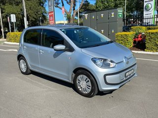 2012 Volkswagen UP! Type AA MY13 Silver 5 Speed Manual Hatchback.