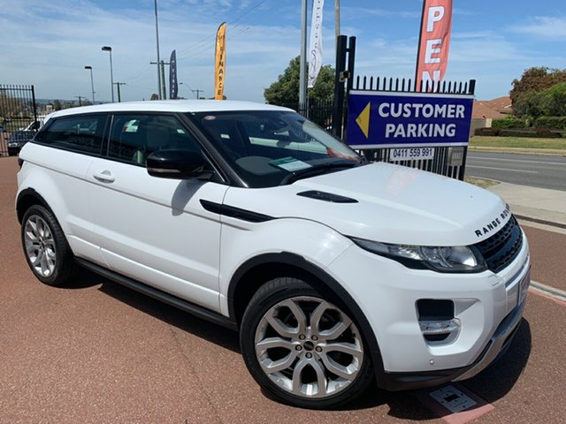 Used Land Rover Range Rover Evoque LV SD4 Dynamic St James, 2012 Land Rover Range Rover Evoque LV SD4 Dynamic White 6 Speed Automatic Coupe