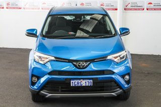 2018 Toyota RAV4 ZSA42R MY18 GX (2WD) Blue Gem Continuous Variable Wagon.