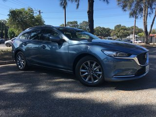 2020 Mazda 6 GL1033 Touring SKYACTIV-Drive Blue Reflex 6 Speed Sports Automatic Wagon.