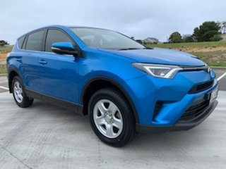 2016 Toyota RAV4 ASA44R GX AWD Blue 6 Speed Sports Automatic Wagon.