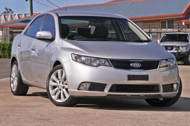 Used Kia Cerato TD MY10 SLi, 2010 Kia Cerato TD MY10 SLi Silver 4 Speed Sports Automatic Sedan