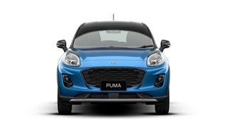 2020 Ford Puma JK 2020.75MY DCT Desert Island Blue 7 Speed Sports Automatic Dual Clutch Wagon.
