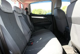 2015 Holden Colorado RG MY16 LS-X (4x4) Red 6 Speed Automatic Crew Cab Pickup