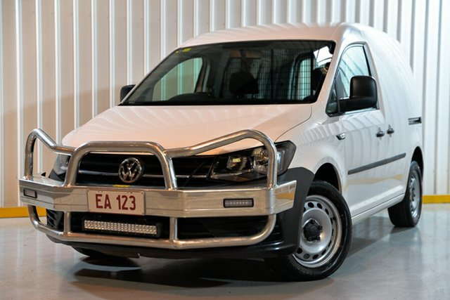 Used Volkswagen Caddy 2KN MY17.5 TSI220 SWB DSG Hendra, 2017 Volkswagen Caddy 2KN MY17.5 TSI220 SWB DSG White 7 Speed Sports Automatic Dual Clutch Van