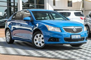 2012 Holden Cruze JH Series II MY12 CD Blue 6 Speed Sports Automatic Hatchback.