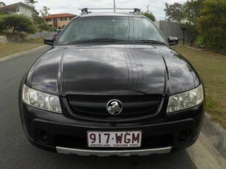 2006 Holden Adventra VZ SX6 Black 5 Speed Automatic Wagon.