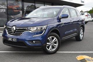 2017 Renault Koleos HZG Zen X-tronic Blue/black and Cream 1 Speed Constant Variable Wagon.