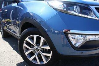 2014 Kia Sportage SL MY14 SLi AWD Blue 6 Speed Sports Automatic Wagon.