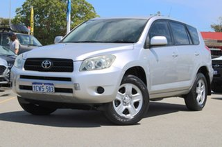 2008 Toyota RAV4 ACA33R MY08 CV Silver 4 Speed Automatic Wagon.