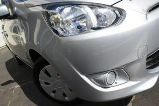 2013 Mitsubishi Mirage LA MY14 Sport Silver 5 Speed Manual Hatchback.