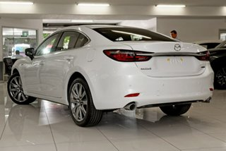 2020 Mazda 6 GL1033 100th Anniversary SKYACTIV-Drive White 6 Speed Sports Automatic Sedan.